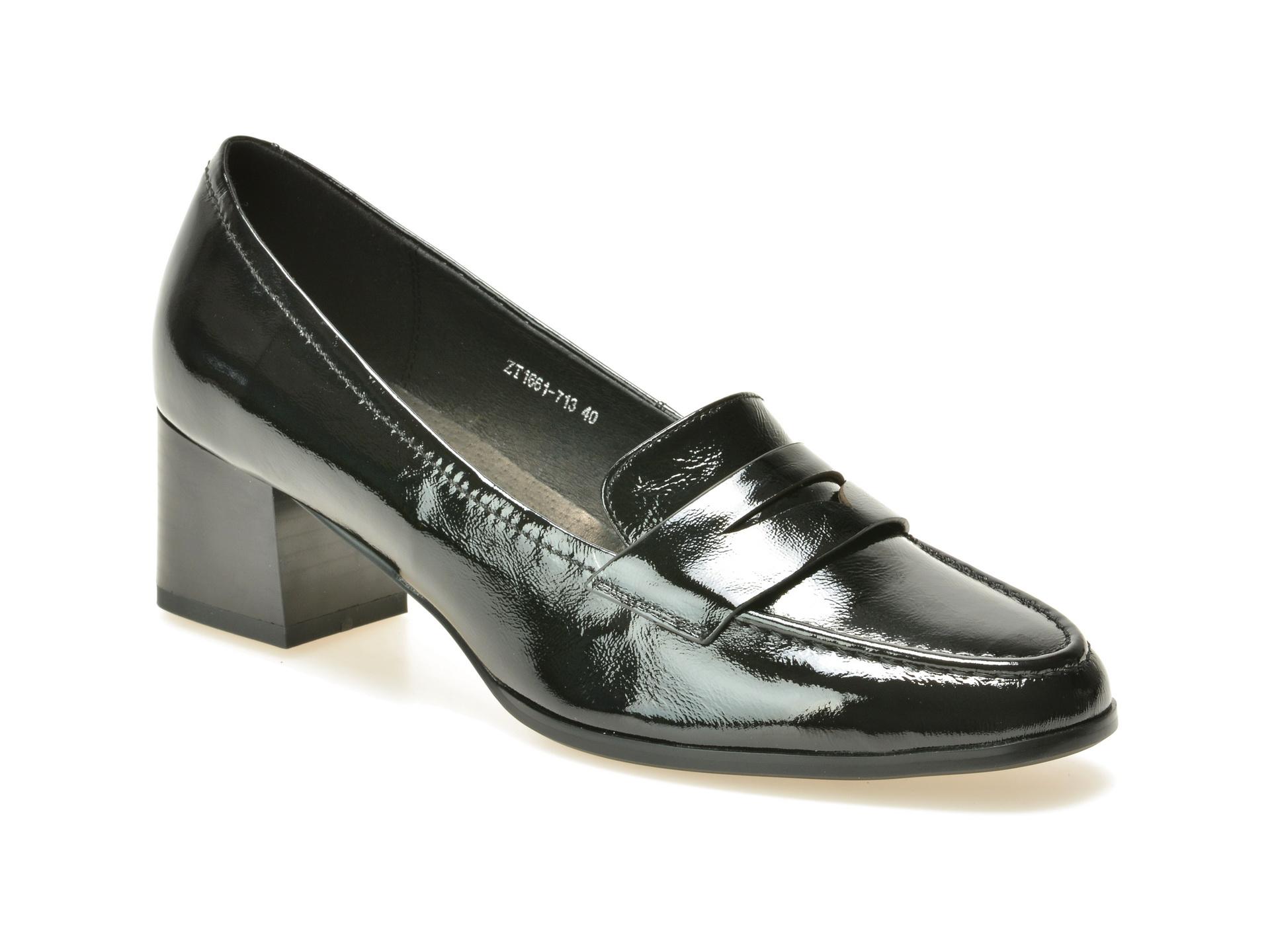 Pantofi FLAVIA PASSINI negri, 713, din piele naturala